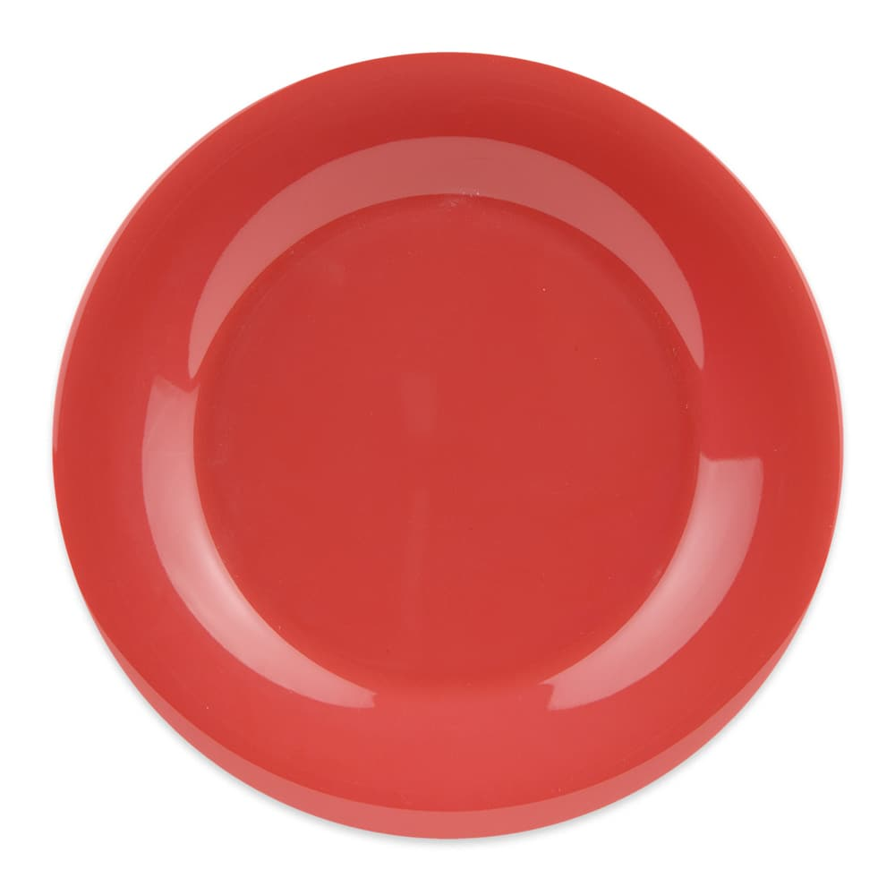 "GET WP-9-RO 9"" Round Dinner Plate, Melamine, Orange"