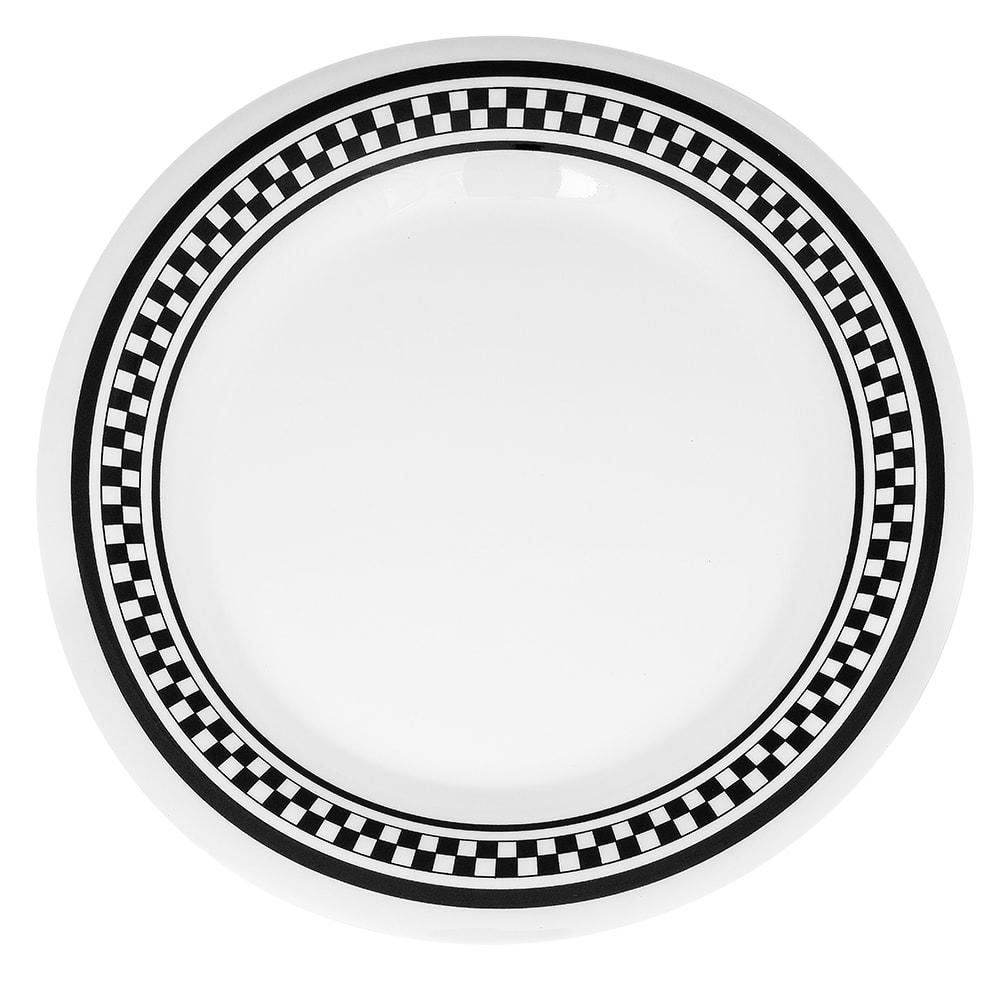 "GET WP-9-X 9"" Round Dinner Plate, Melamine, Yellow"