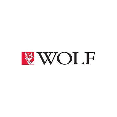 "Wolf CONRAIL-24 10-5/8"" Deep Condiment Rail Holds (3) 1/6-Size Pans"