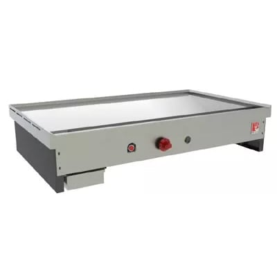 """Wolf TYG60C 60"""" Teppan Yaki Griddle w/ .75"""" Thick Polished Steel Plate, NG"""