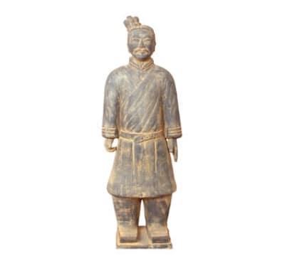 Town 28252 Xian Foot Soldier Statue, Terra-Cotta, 19 in
