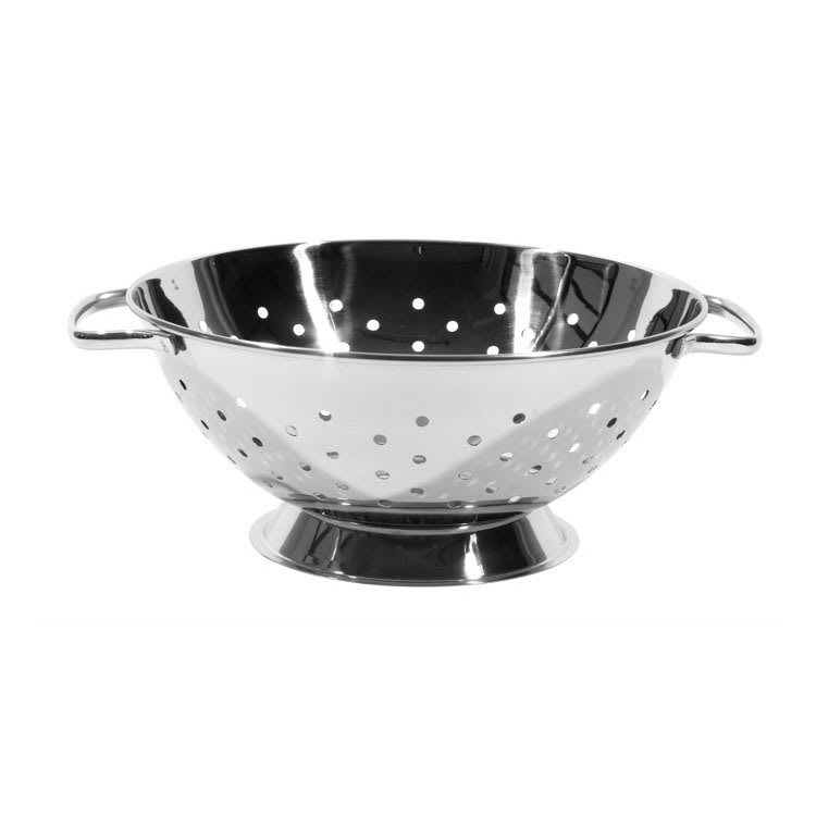 Town 31710 4-1/2 qt Colander, Handles, Heavy Base, Stainless