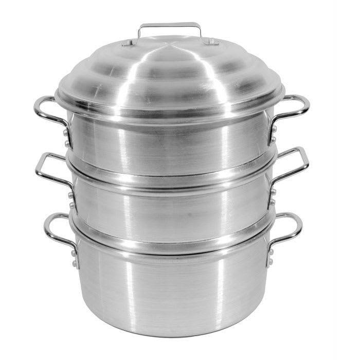 "Town 34416-SDP 16"" Aluminum Steamer Basket, 27""H"