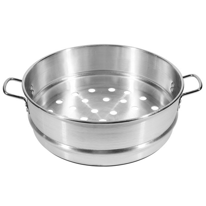 """Town 34418 18"""" Chinese Steamer Basket, 7/8"""" Perforations, Aluminum"""