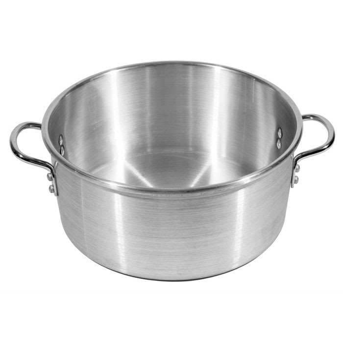 "Town 34612 12"" Chinese Steamer Water Pan, Aluminum"