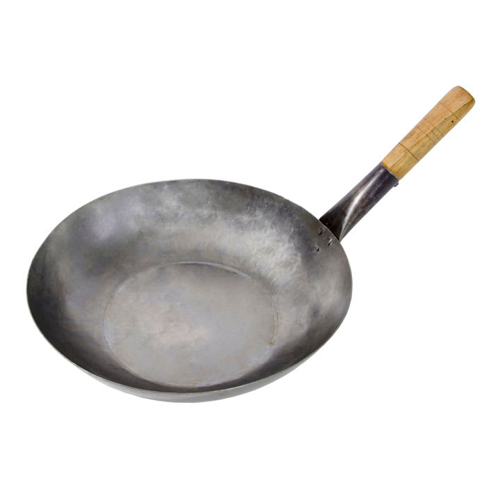 """Town 34704 14"""" Steel Stir Fry Pan - Induction Ready"""