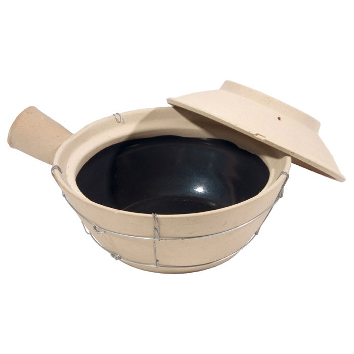 Town 34757 24 oz Ceramic Sauce Pan, With Lid, 7 3/4 in