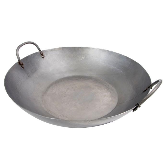 """Town 34804 14"""" Steel Stir Fry Pan"""