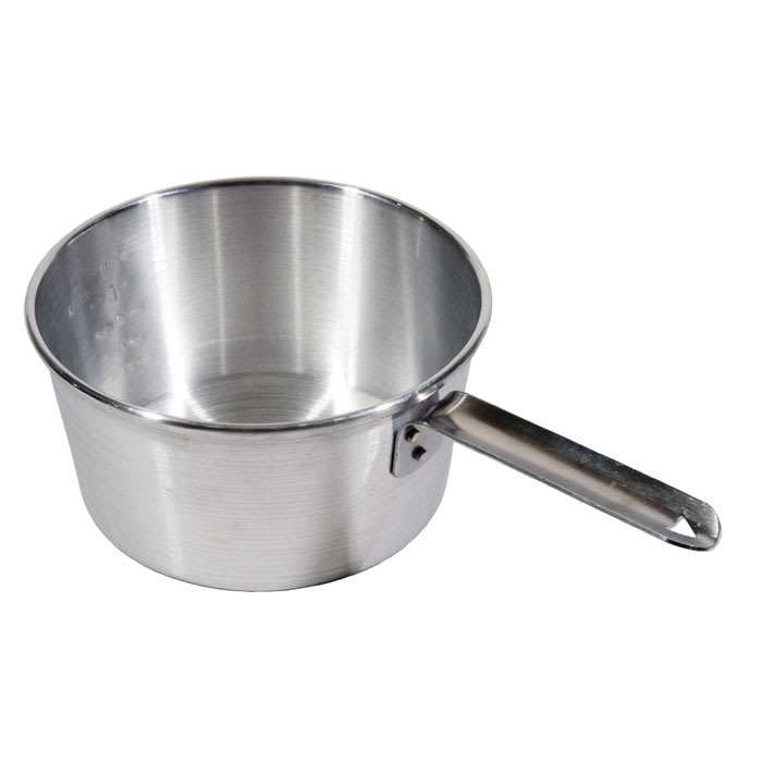 Town 35403 3-qt Aluminum Saucepan w/ Solid Metal Handle