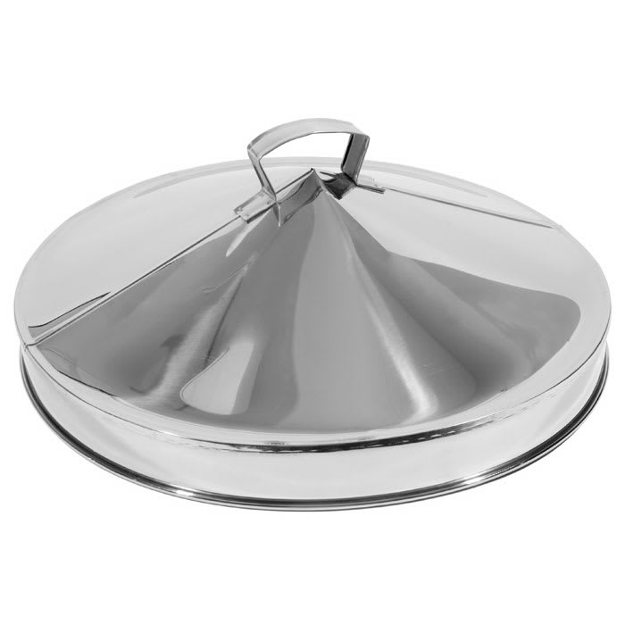"Town 36623 22""Dim Sum Steamer Cover, Domed, Stainless"