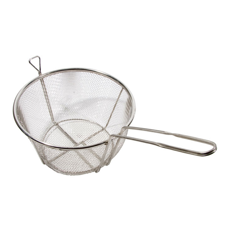 """Town 42939 8-1/2"""" Diameter Culinary Basket, 8""""Handle, Stainless"""