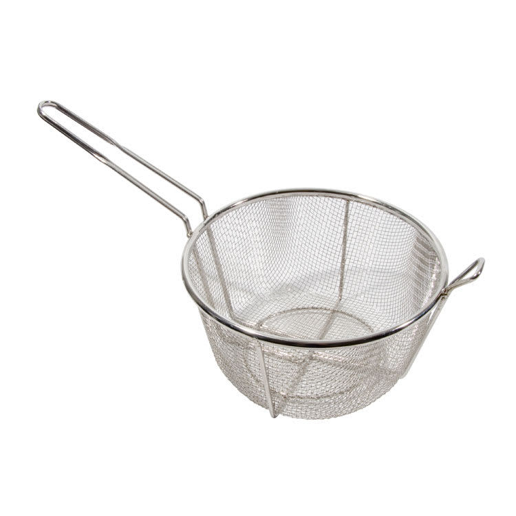 """Town 42942 11 1/2"""" Diameter Culinary Basket, 6""""Handle, Stainless"""