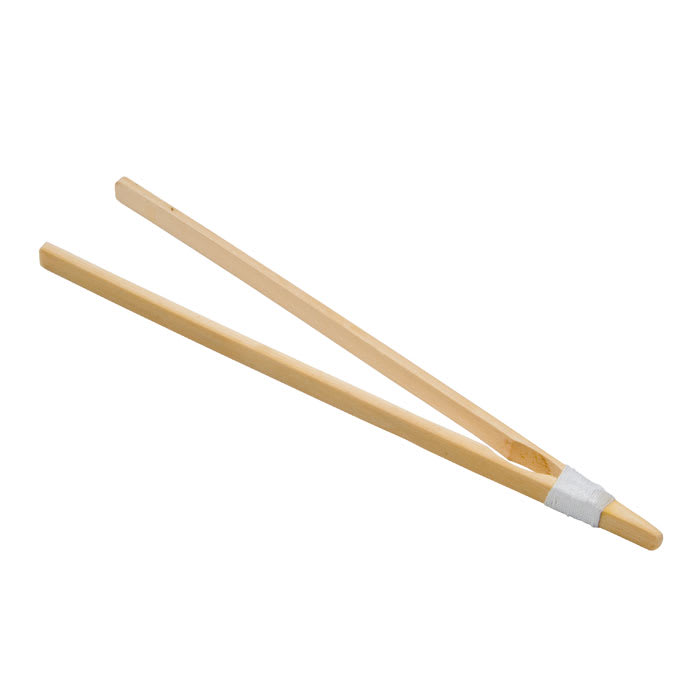 "Town 51318 10 1/2"" Bamboo Serving Tong, Joined And Tied"