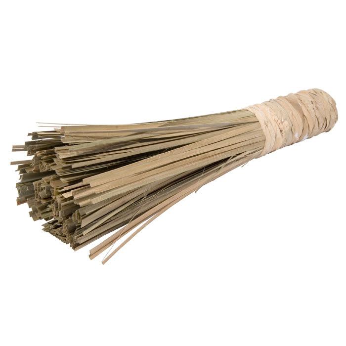 "Town 53180 11"" Asian Style Wok Brush, Bamboo, 4"" Brush Face"