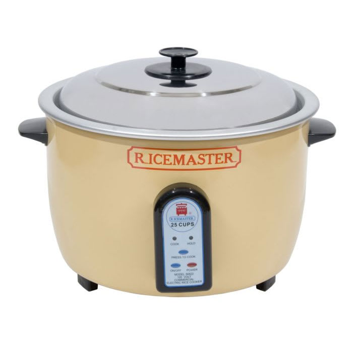 Town 56824 25-Cup Rice Cooker w/ Auto Cook & Hold, 230 V