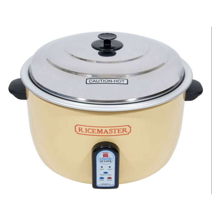 Town 57155 55 Cup Electric Rice Cooker/Steamer, One Touch, 230v/1ph