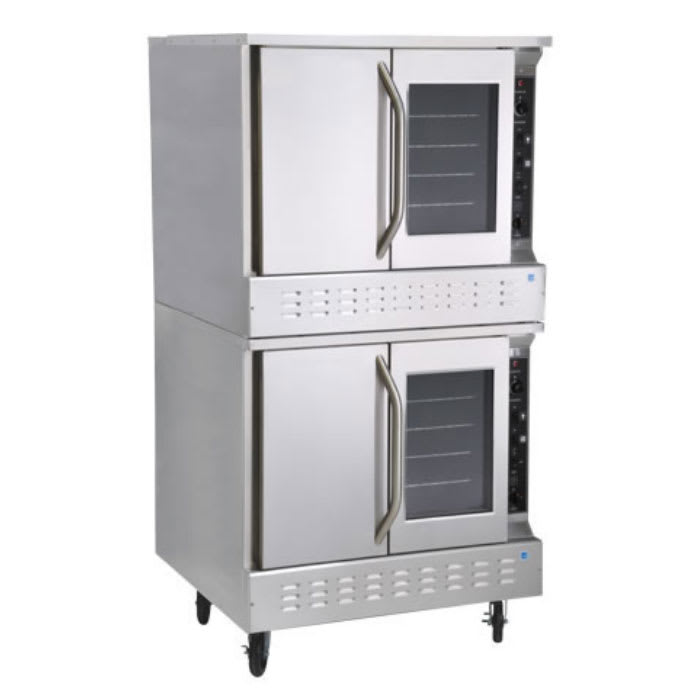 Market Forge 8192 Double Full Size Gas Convection Oven, LP