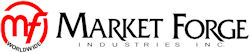 "Market Forge 91-5156 29.25"" x 21"" Stationary Equipment Stand for Tilt Skillets & Kettles, Open Base"