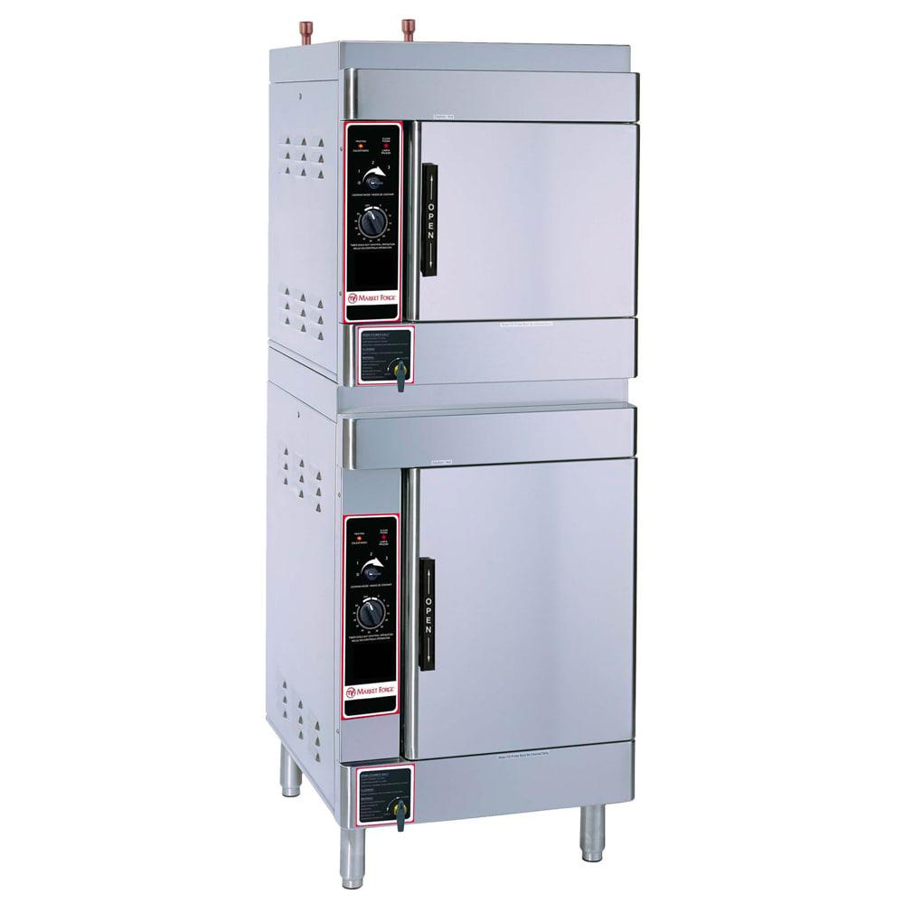 Market Forge ALTAIR II-10 Electric Floor Model Steamer w/ (10) Full Size Pan Capacity, 208v/1ph