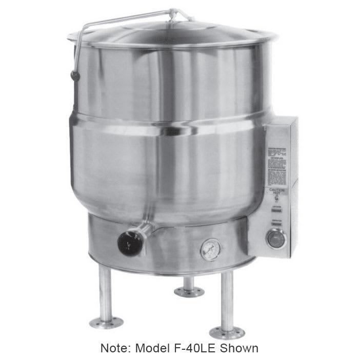 Market Forge F60LE 2081 Kettle, Electric, 60 gal Capacity, Tri-Leg, 208/1 V