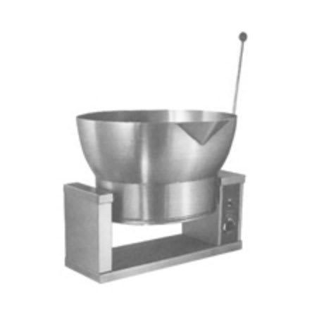 Market Forge R-1600-E 2201 16-gal Tilting Skillet, Power Switch & Thermostat, Stainless, 220/1 V