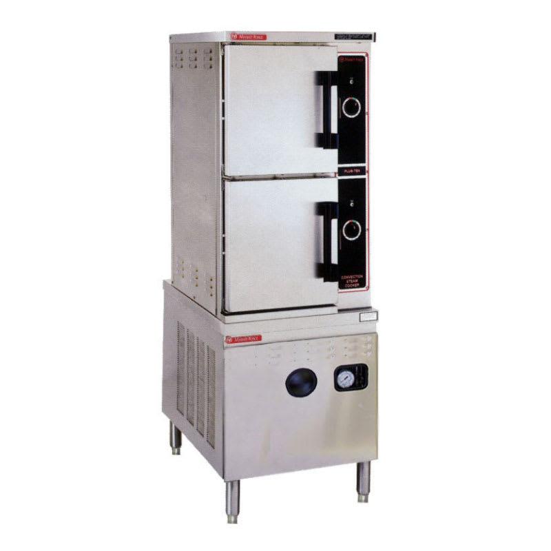 Market Forge ST-10M24D Direct Steam Floor Model Steamer w/ (10) Full Size Pan Capacity, 120v