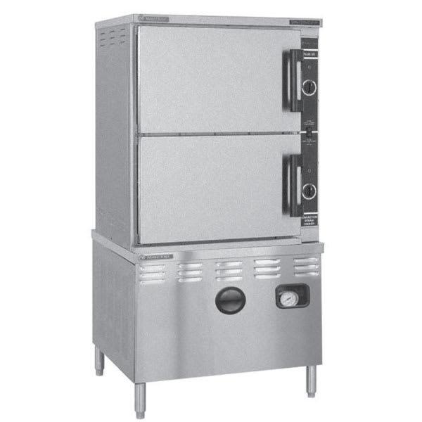 Market Forge ST-24M36D Direct Steam Floor Model Steamer w/ (24) Full Size Pan Capacity, 240v/3ph