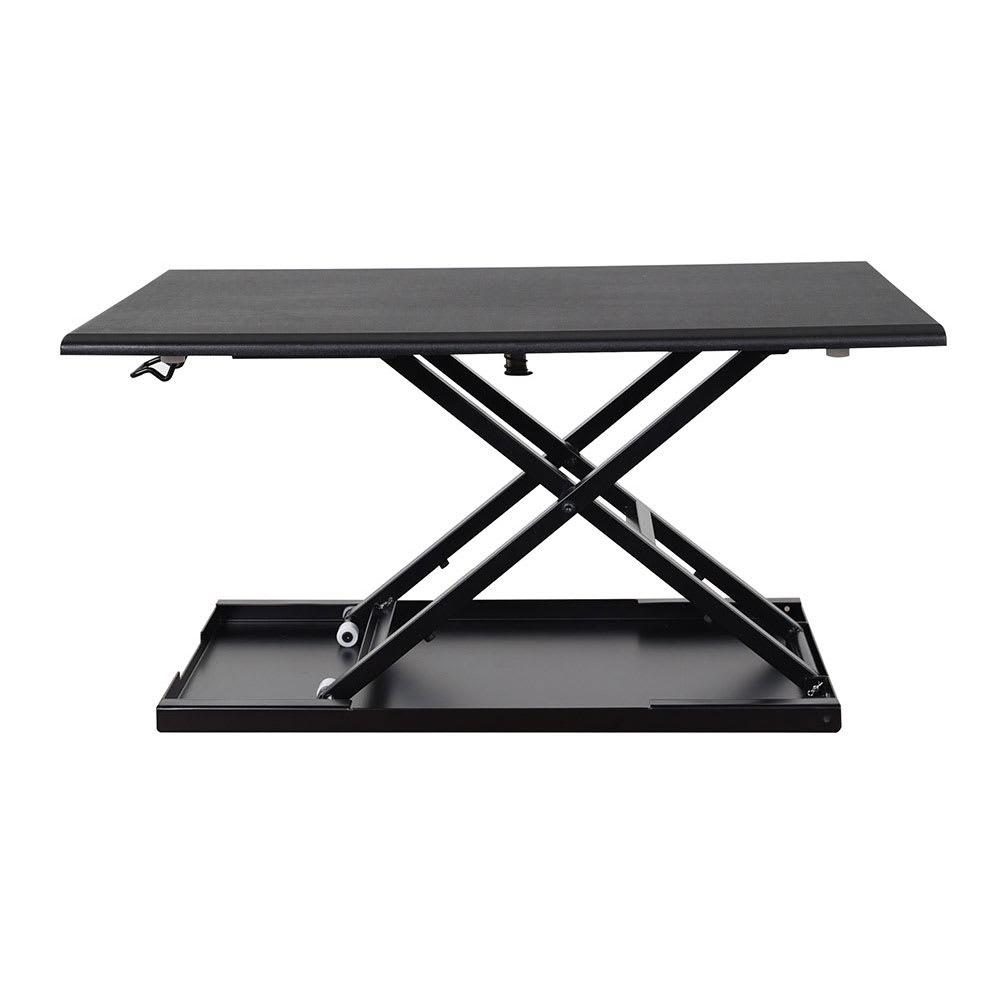"""Luxor Furniture LVLUP32-BK Adjustable Desktop Desk w/ 20-lb Capacity - 25.75"""" x 15.25"""", Black"""