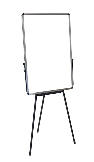 Luxor Furniture PB3040W Adjustable Height Whiteboard - Portable