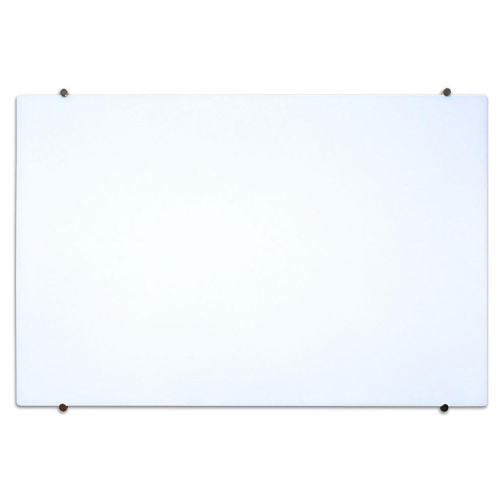 """Luxor Furniture WGB4834M 48"""" x 34"""" Wall-Mounted Glass Board w/ Mounting Pucks"""