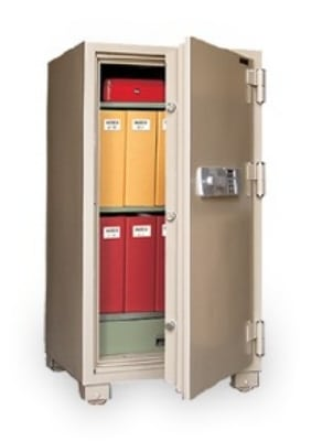 Mesa MFS 120E TAN 6.8-cu ft Fireproof Safe w/ Electronic Lock