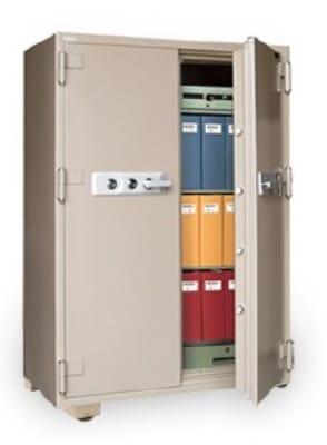 Mesa MFS 170DDC TAN 20.7-cu ft Fireproof Safe w/ Combination Lock