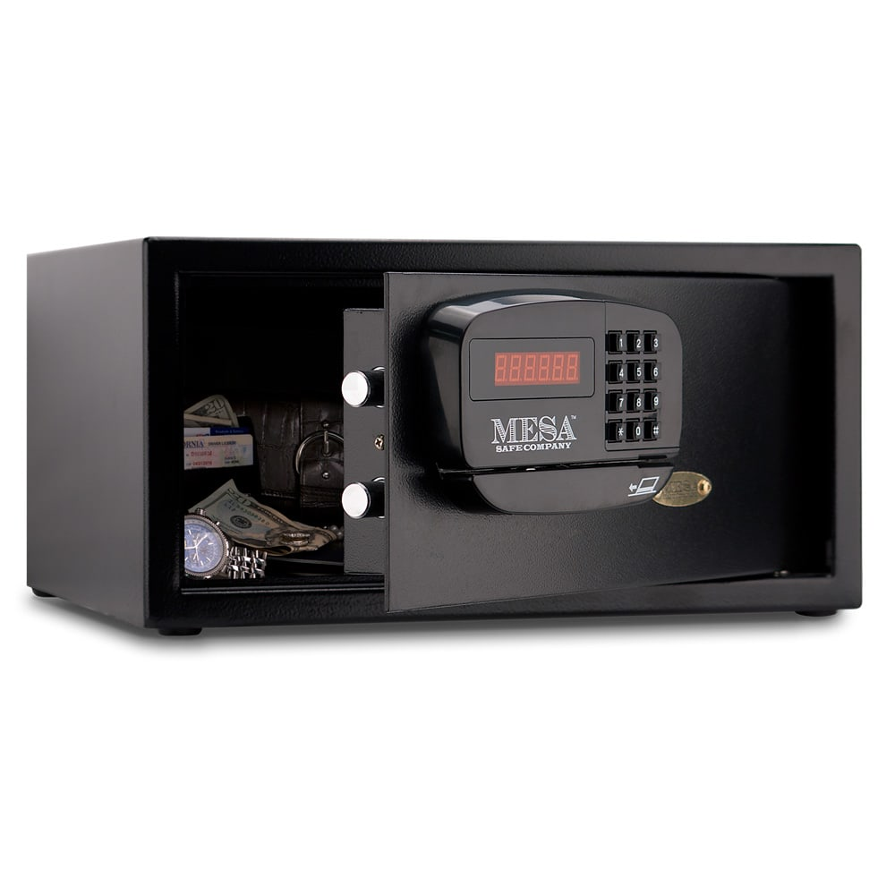Mesa MHRC916EBLK 1.2-cu ft Hotel Safe w/ Electronic Lock