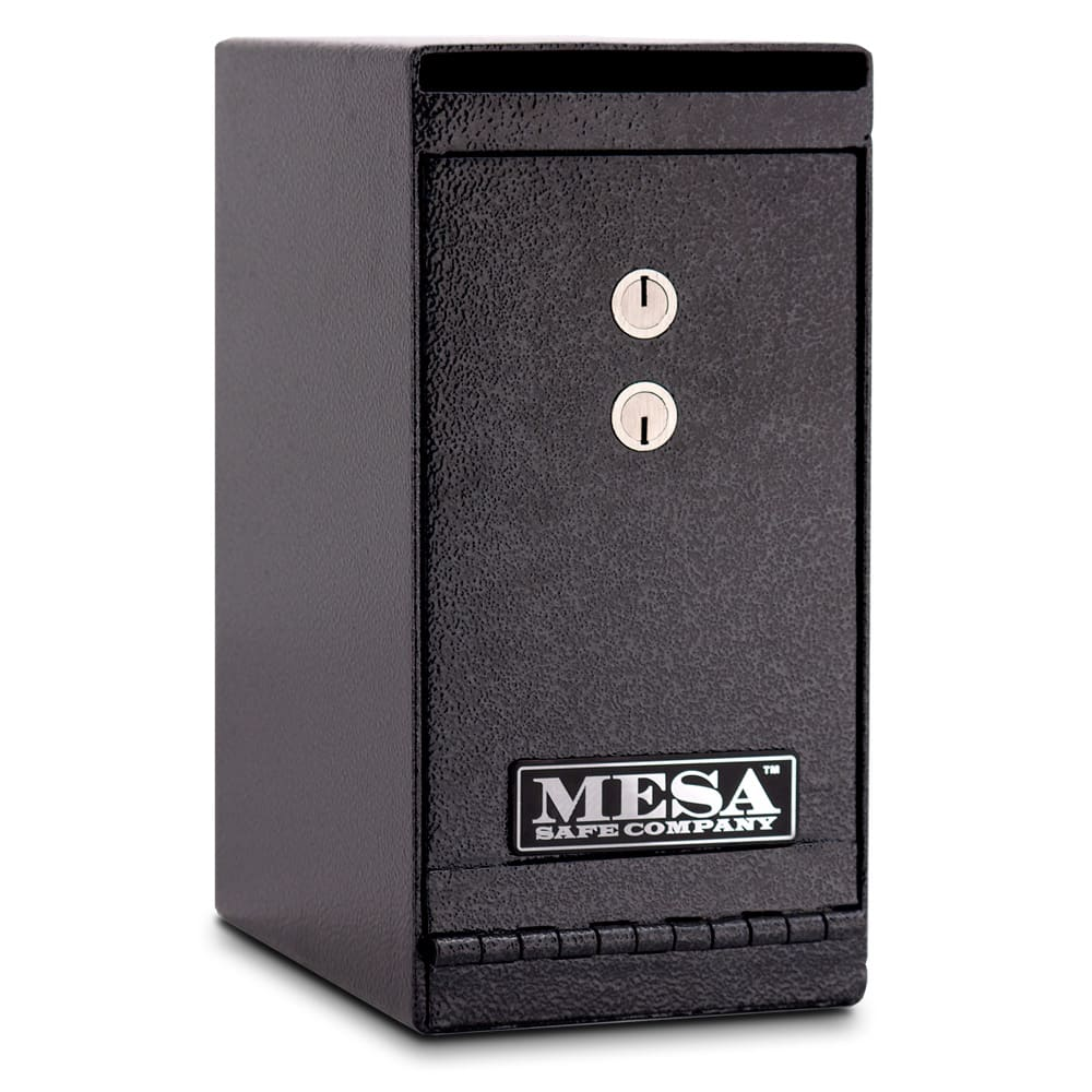 Mesa MUC1K .2-cu ft Under Desk Safe w/ Deposit Slot & Key Lock