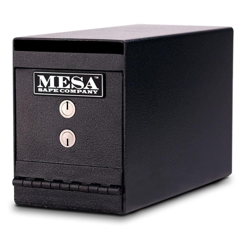 Mesa MUC2K .2 cu ft Under Desk Safe w/ Deposit Slot & Key Lock