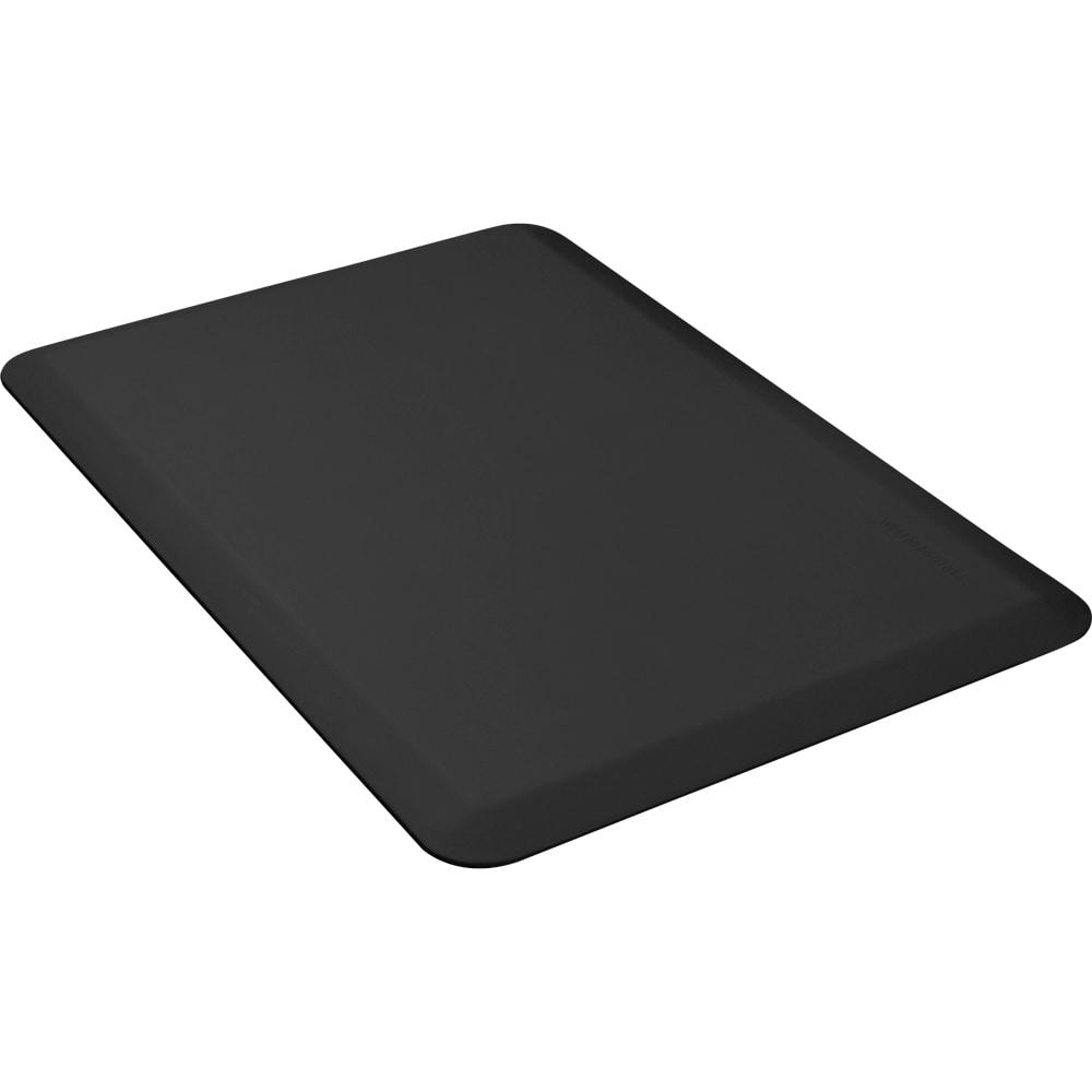 Wellness Mats 32WMRBLK 3 x 2-ft Mat, (APT) Poly, High Comfort, No-Slip, Black