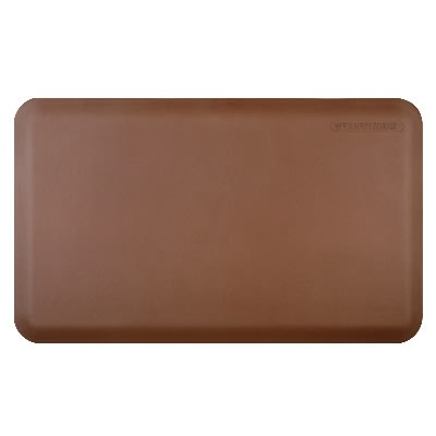 Wellness Mats 32WMRBRN 3 x 2-ft Mat, (APT) Poly, High Comfort, No-Slip, Brown