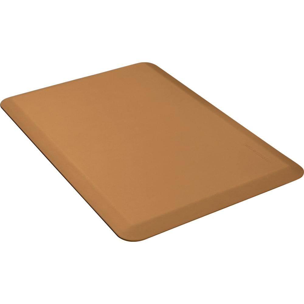 Wellness Mats 32WMRTAN 3 x 2-ft Mat, (APT) Poly, High Comfort, No-Slip, Tan
