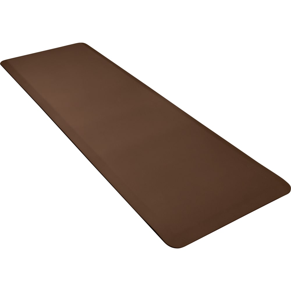 Wellness Mats 62WMRBRN High Comfort Mat, 6 x 2 ft, (APT) Poly, No-Slip, Brown
