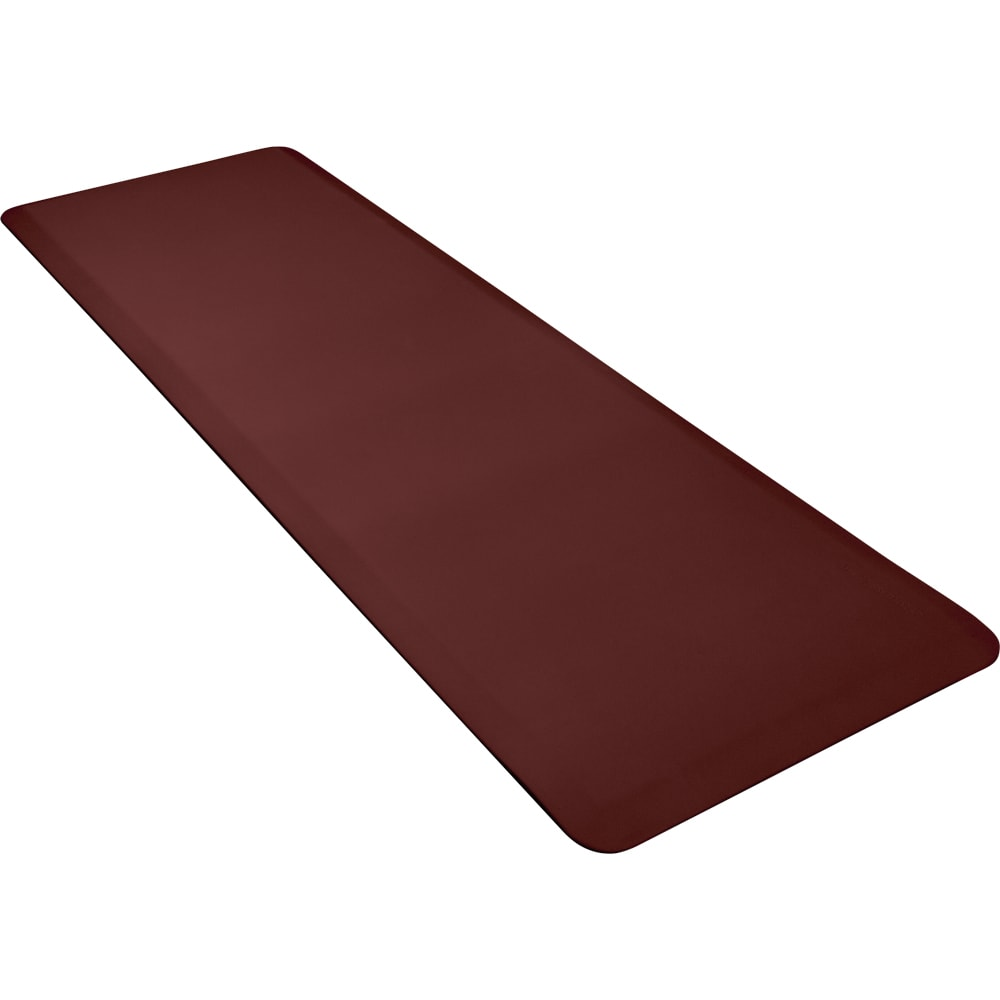 Wellness Mats 62WMRBUR Comfort Mat, 6 x 2-ft, (APT) Poly, No-Slip, Burgundy