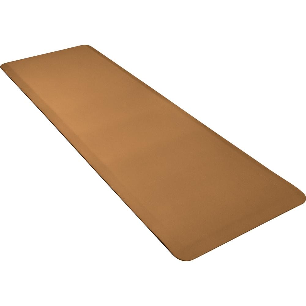 Wellness Mats 62WMRTAN High Comfort Mat, 6 x 2 ft, (APT) Poly, No-Slip, Tan