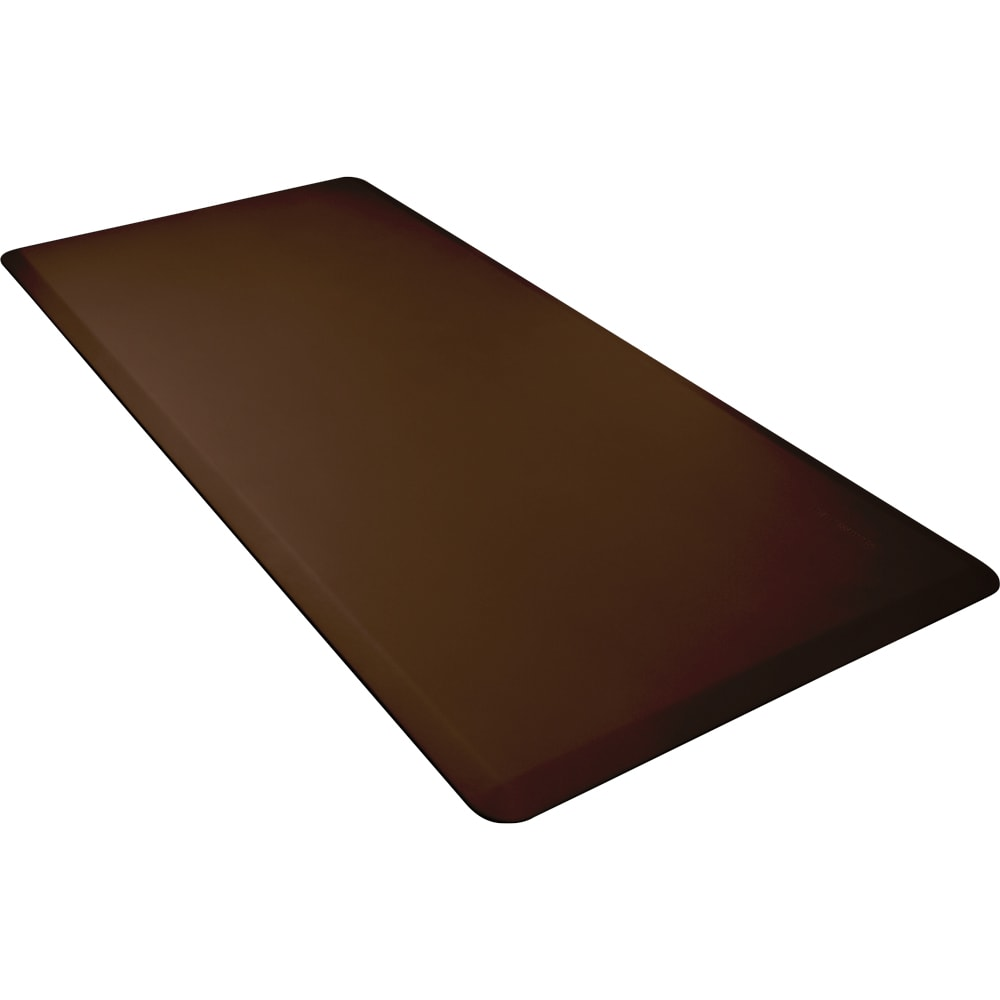 Wellness Mats 63WMRBRN High Comfort Mat, 6 x 3-ft, (APT) Poly, No-Slip, Brown
