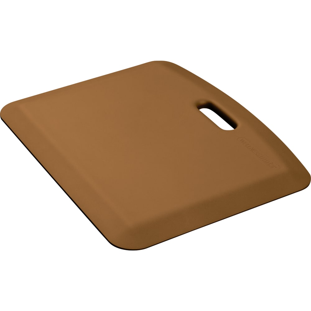 "Wellness Mats PCOMPWMRTAN Companion Mat w/ No-Trip Beveled Edge & Non-Slip Material, 22x18"", Tan"
