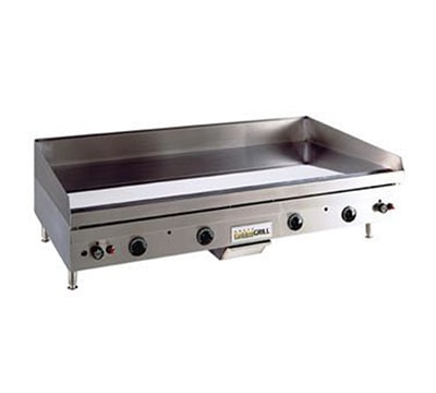 Anets A30X48GM NG Griddle w/ .75-in Hardened Steel Plate & Snap Action, 48 x 30-in, NG