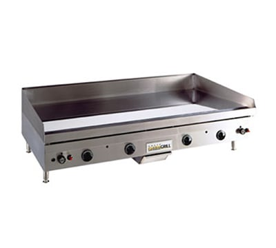 Anets A30X60G NG Griddle w/ .75-in Hardened Steel Plate & Snap Action, 60 x 30-in, NG