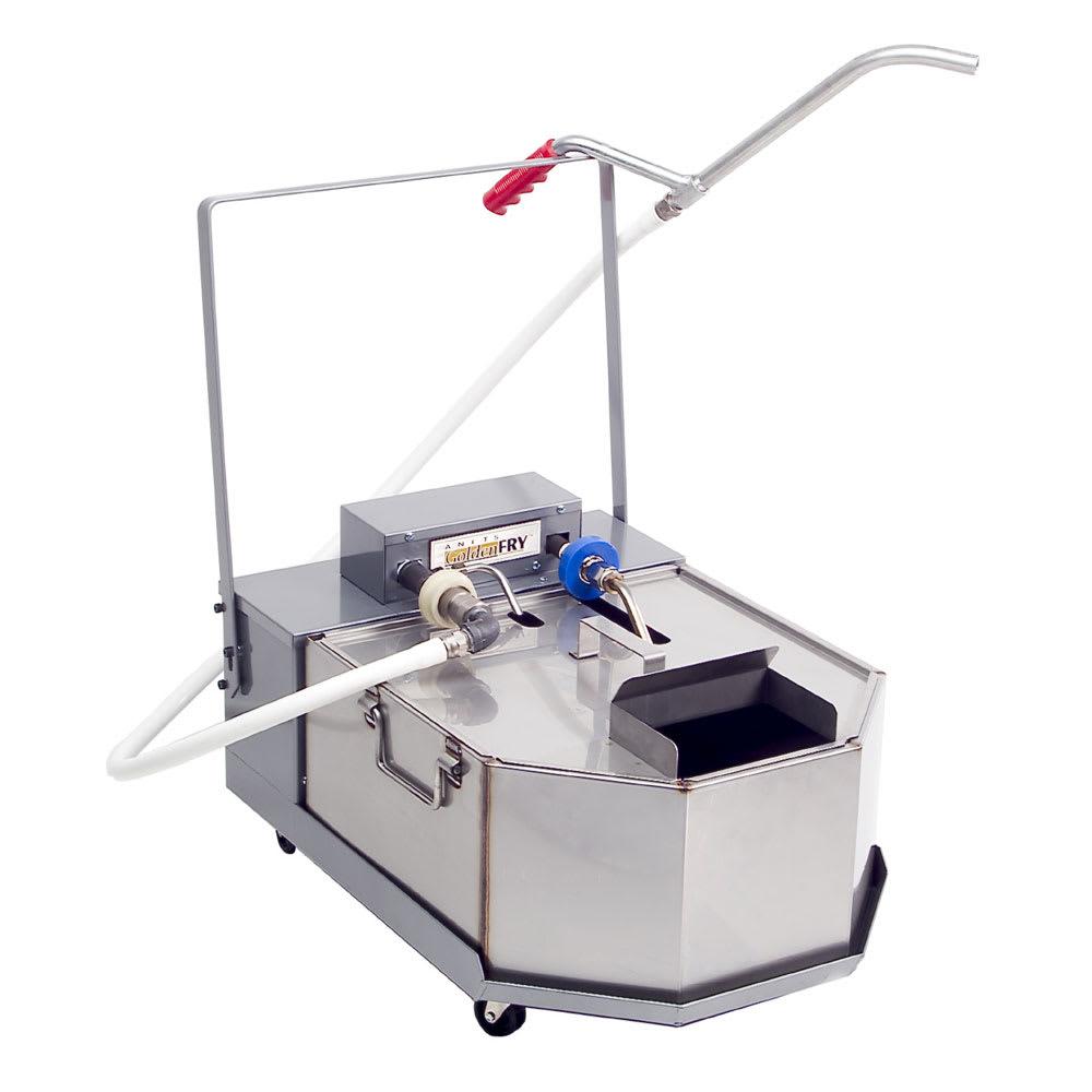Anets FFM80 80 lb Commercial Fryer Filter - Gravity, 120v