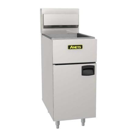 Anets SLG100 Gas Fryer - (1) 100 lb Vat, Floor Model, LP