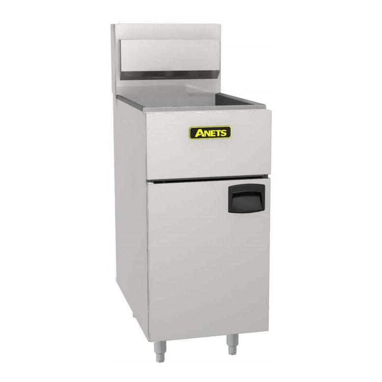 Anets SLG40 Gas Fryer - (1) 40 lb Vat, Floor Model, LP