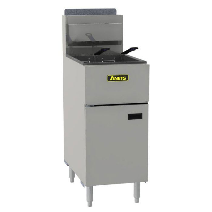 Anets SLG50 Gas Fryer - (1) 50 lb Vat, Floor Model, NG