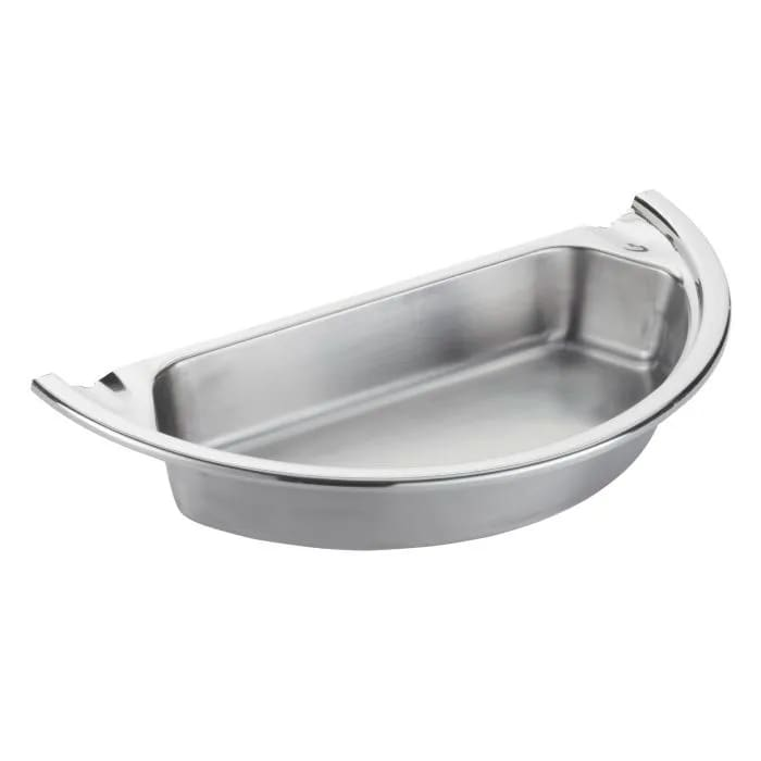 Spring USA 372-66/36/12 2 qt Insert Pan for Round Chafer, Stainless